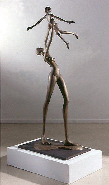 Wings of love, by Gakunju Kaigwa, Kenyan Sculptor