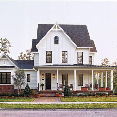 Pretty House Plans with Porches Casas americanas, Me perdiste y
