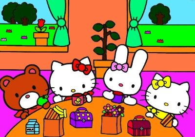 Hello Kitty The Story Of Her Life Pets Friends And Family Hello Kitty Hello Kitty Pictures Kitty