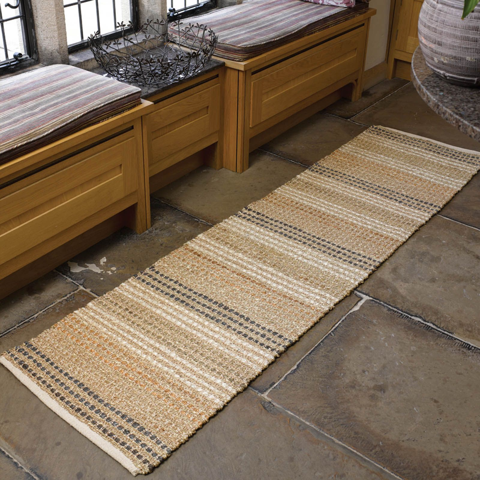 Natural Living Seagr Hallway Runners In Free Uk Delivery