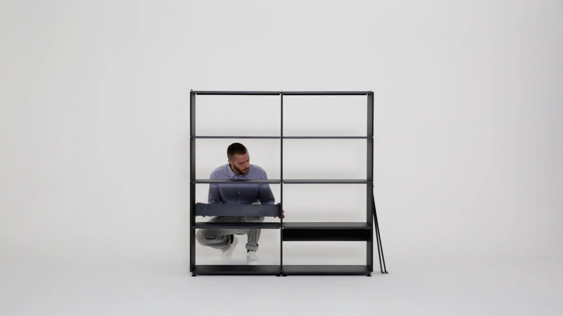Wandregalsystem Design Plusminus Shelving System Designed By Daniel Lorch For Faust