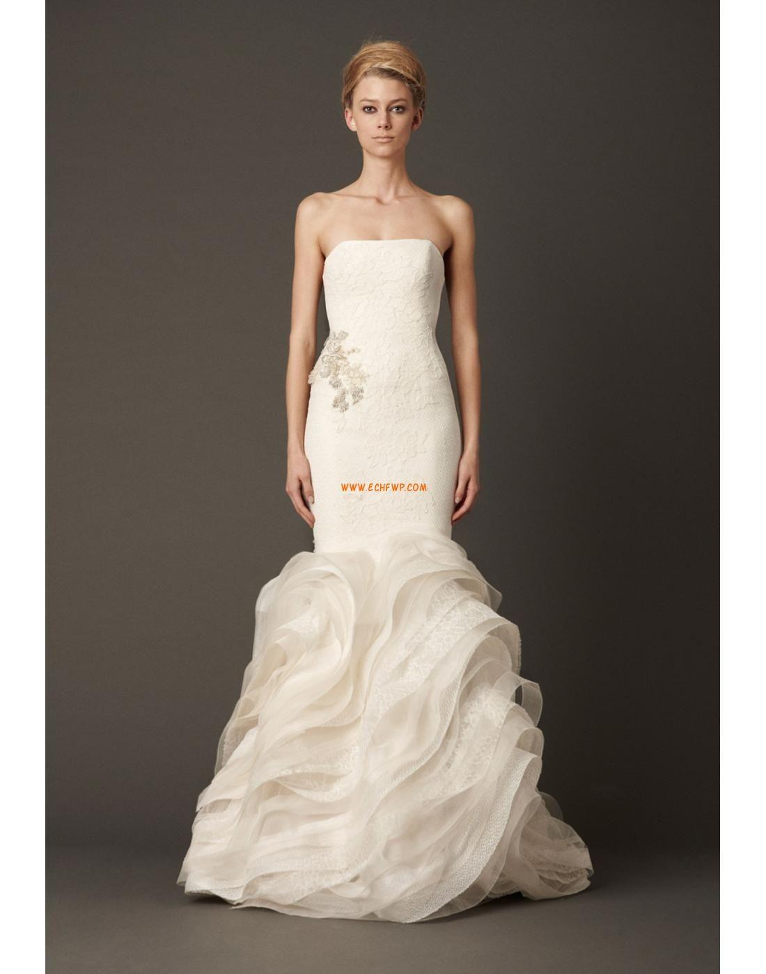 Strapless Tule Elegant & Luxe Bruidsmode 2014