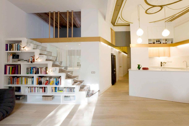 rangement sous escalier pour optimiser l 39 espace bibliotheque pinterest maison rangement. Black Bedroom Furniture Sets. Home Design Ideas