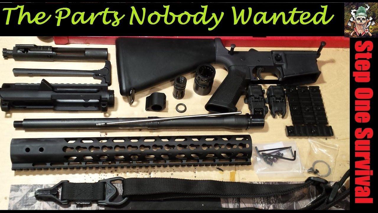 AR15 Project - Parts Nobody Wanted   ar15   Guns, Hand guns, Ar15