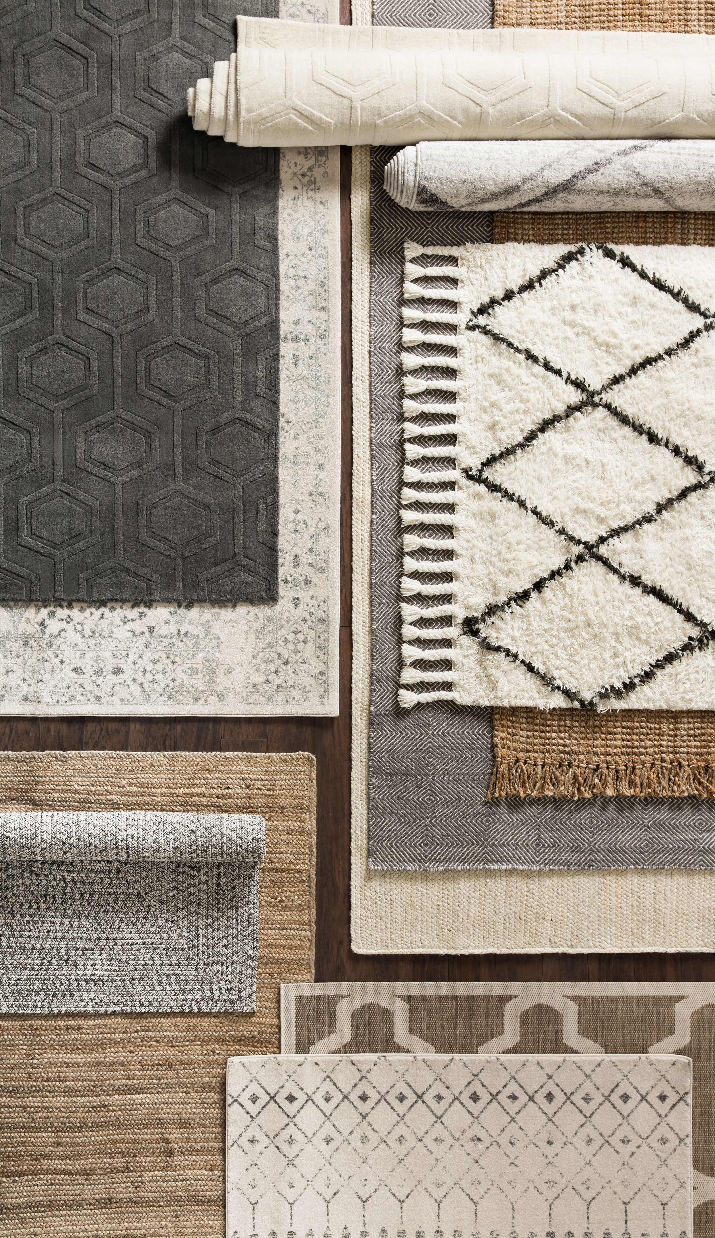 Simple In Color But Bursting With Texture Shop With Rugs