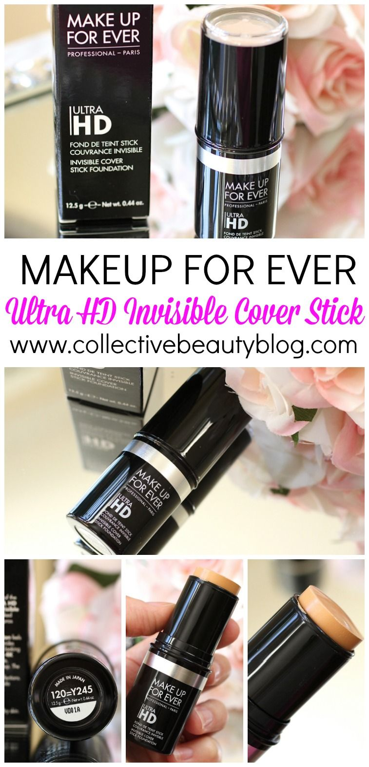 Makeup For Ever Ultra HD Invisible Cover Stick Foundation