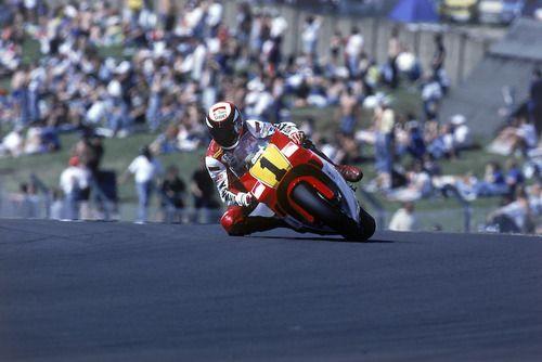 on the limit …Wayne Rainey, Marlboro Roberts-Yamaha...