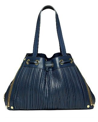 Mulberry Poppy Pleated Leather Bag