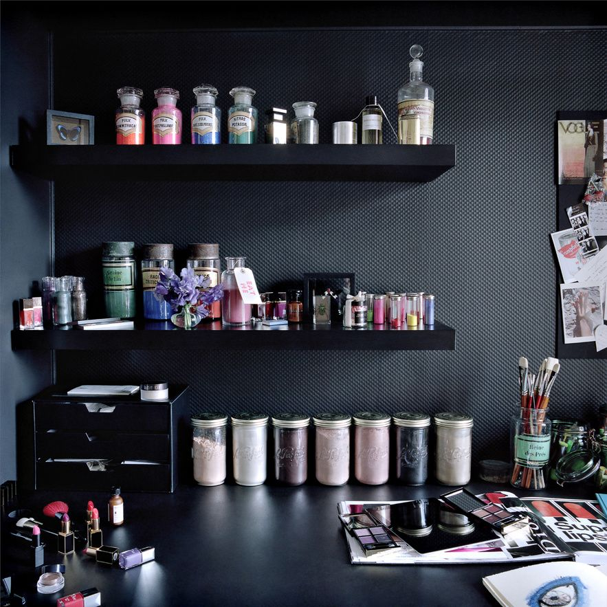 dans la salle de bain de violette inspiration pinterest salle de bain salle et beaut. Black Bedroom Furniture Sets. Home Design Ideas