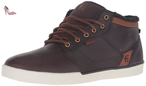 Etnies Hitch, Chaussures de Skateboard Homme, Noir (Black Brown 590), 39 EU (6 UK)