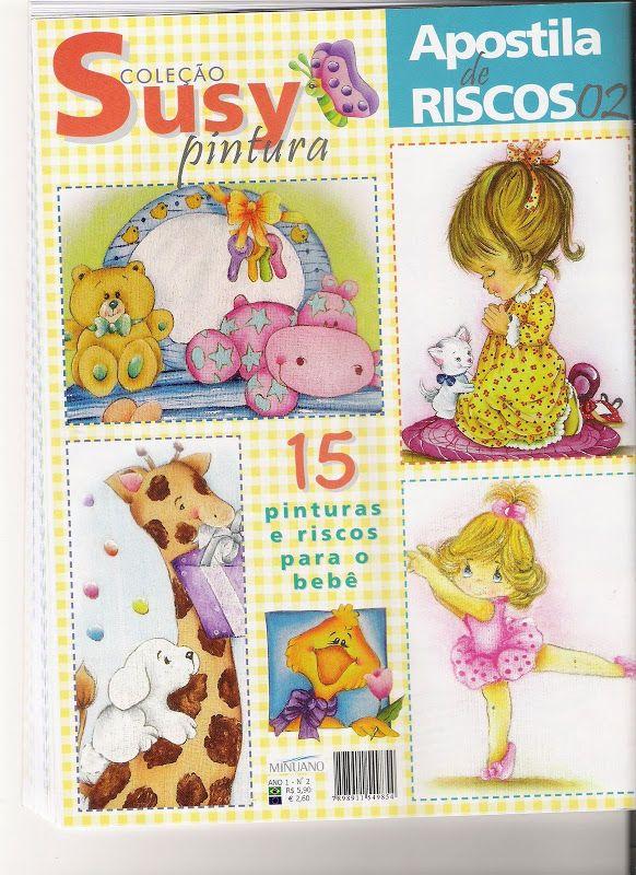 Coleção Susy Pintura Aposstila de Risco Bebe 2 - Roseli Lins - Picasa Web Albums