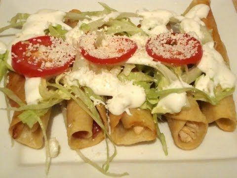 Check out tacos de pollo y crema it 39 s so easy to make - Tacos mexicanos de pollo ...