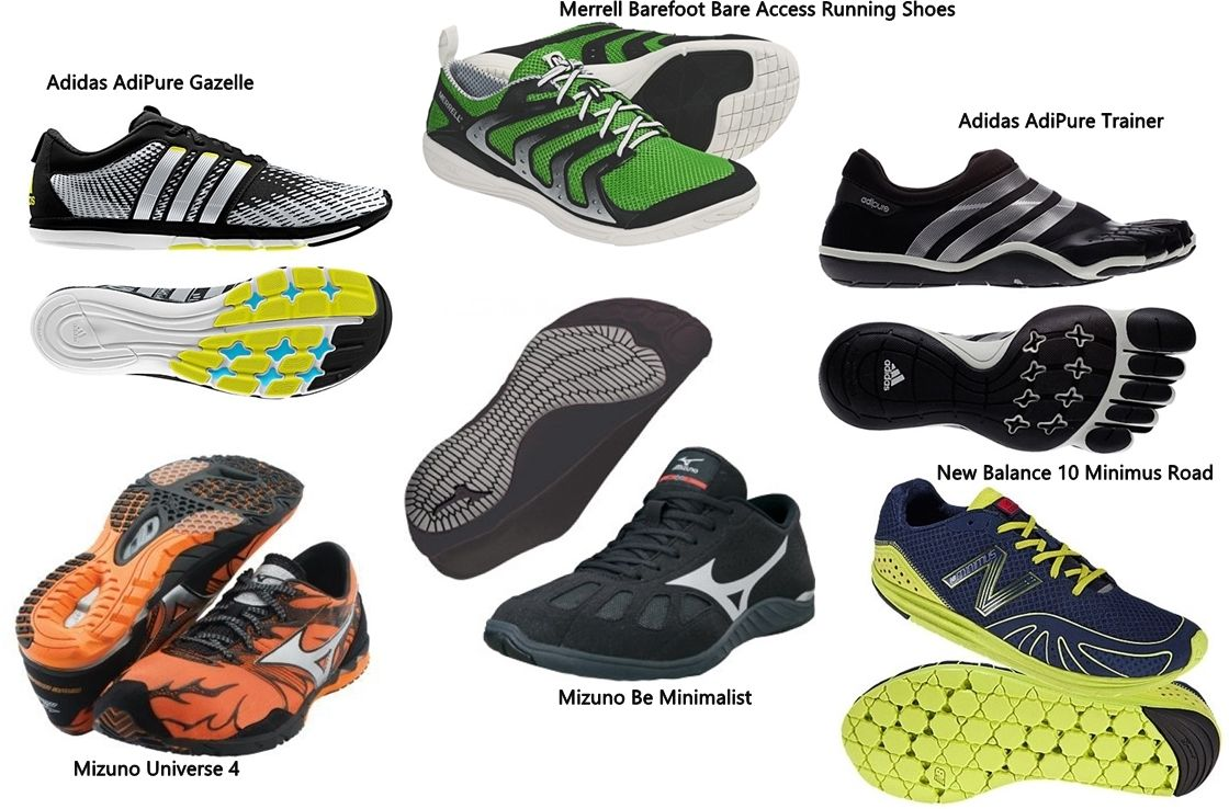 forefoot running shoes