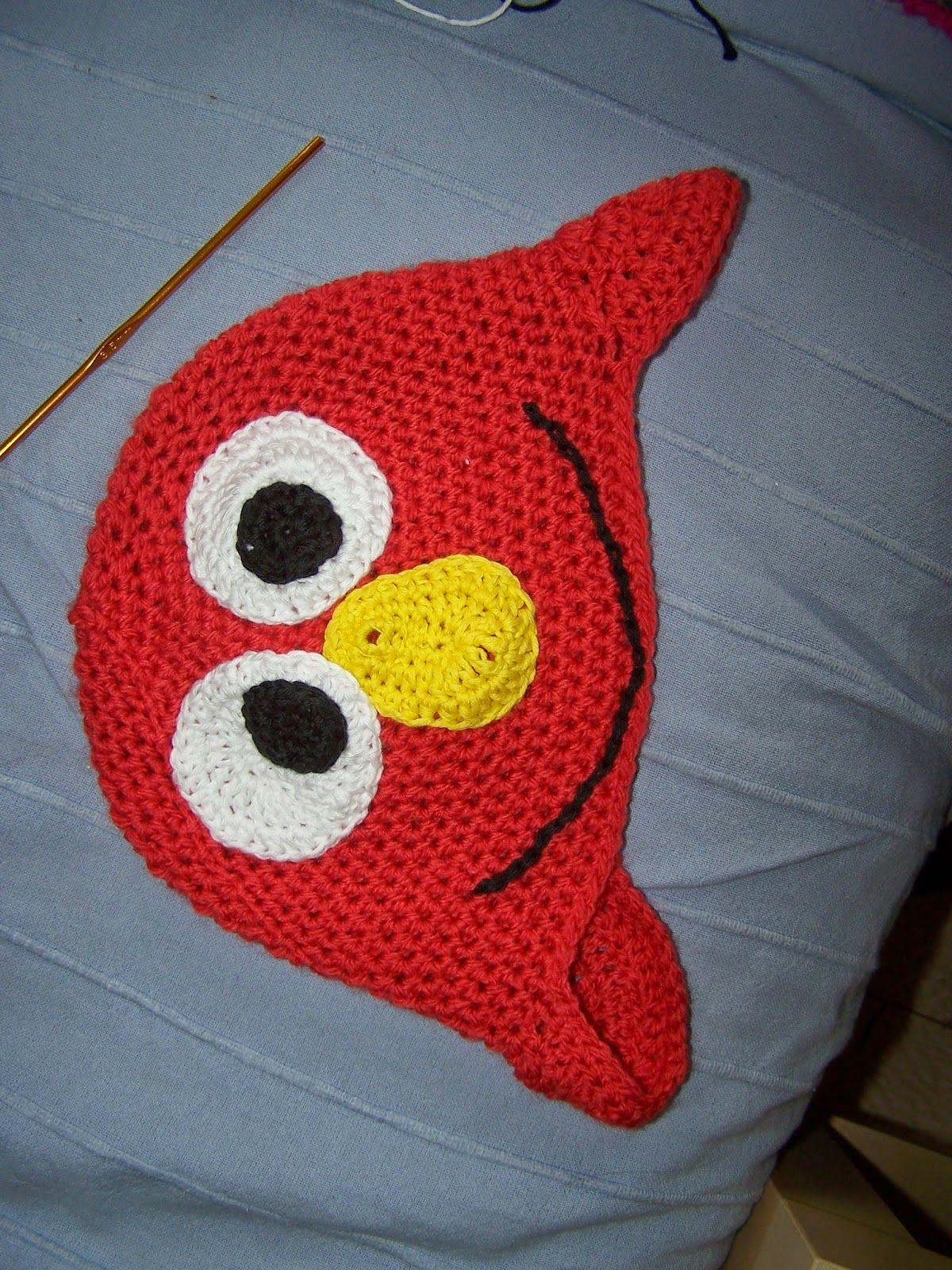 Elmo-Mütze... Strickpauliesel: Jahreswechsel und die Projekte ...