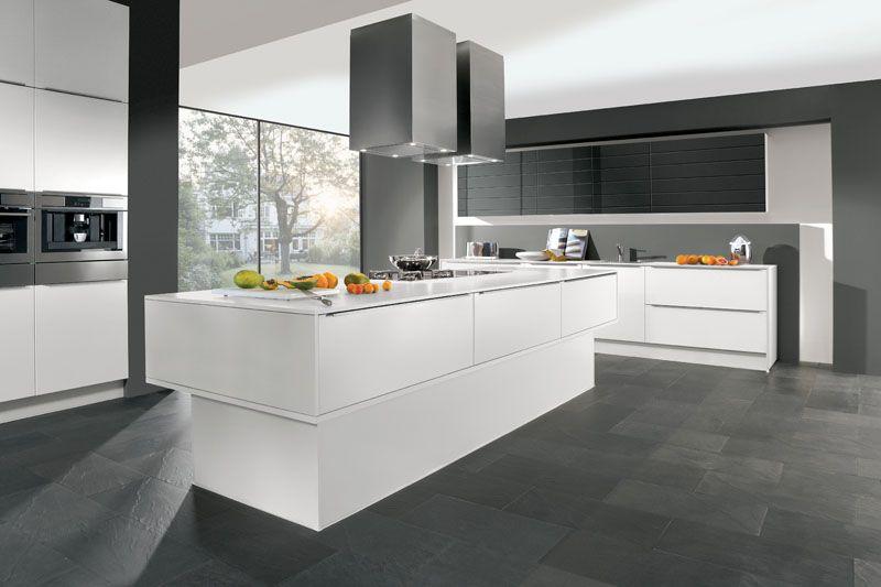 Designküche #Designerküche #Küche #Kücheninsel #Grifflosküche www ...   {Designküchen 0}