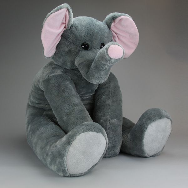 Giant Stuffed Animals Elephant Toy Nursery Art