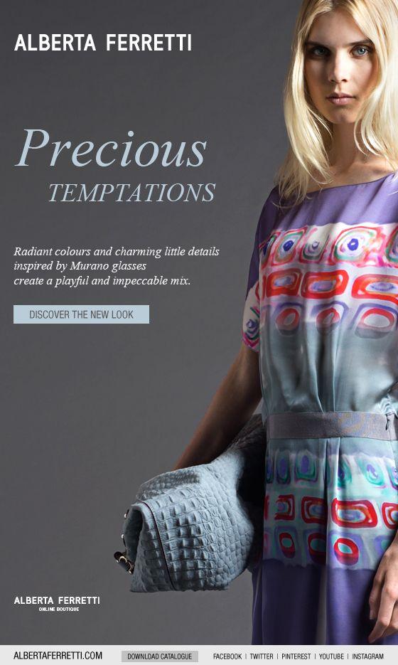 Precious New Look : precious, PRECIOUS, TEMPTATIONS, Discover, Alberta, Ferretti, Online, Boutique., Ferretti,, Clothes, Women,, Boutiques