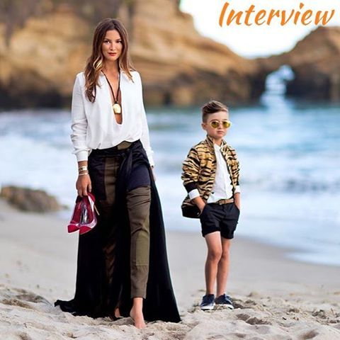 Check out our interview with @luisafere! Fashionista, trendsetter, instagrammer and mom of stylish Alonso Mateo she talks with FashionKids about style, travels and much more!  Link in the bio!  or www.fashionkids.nu