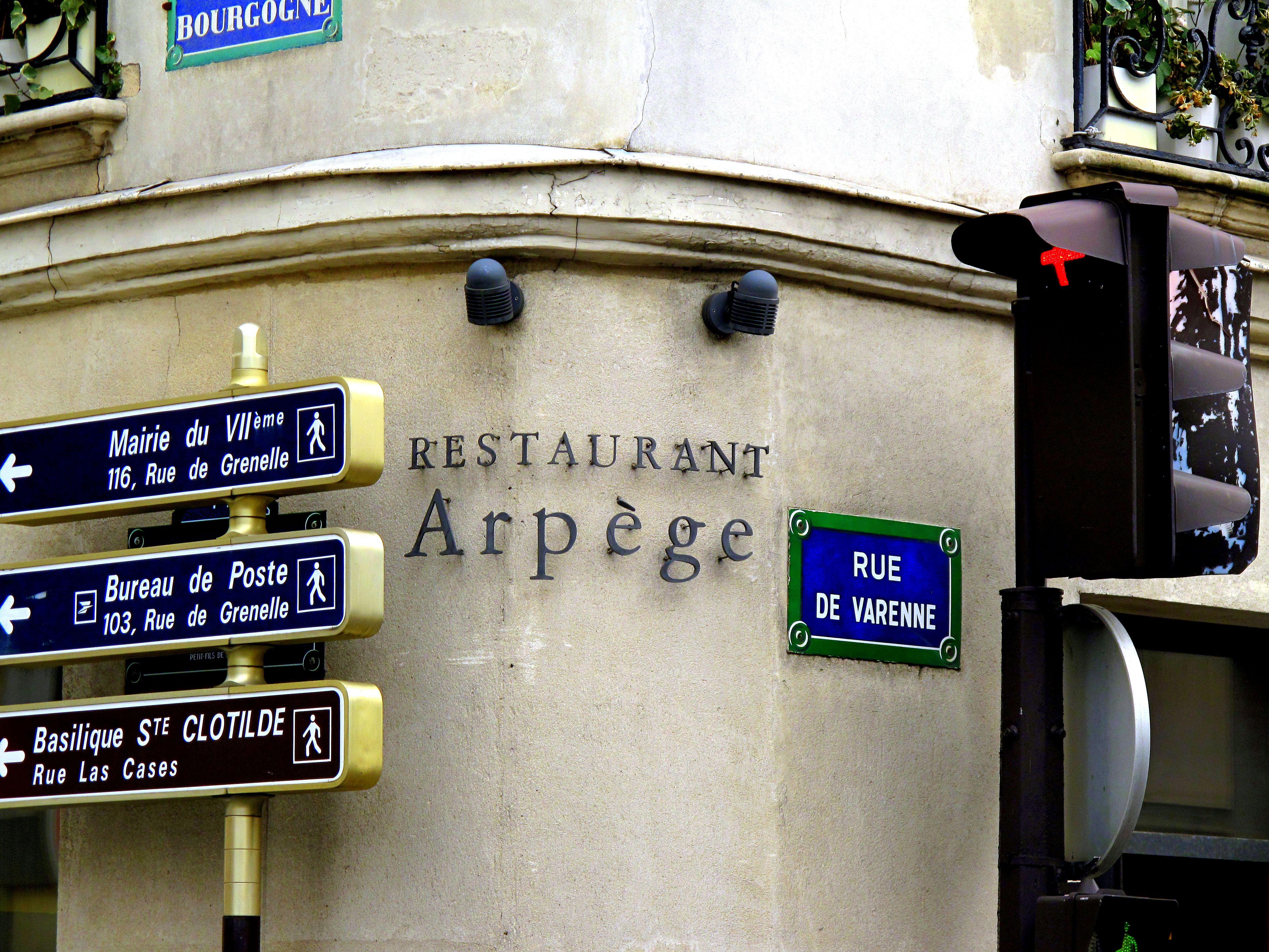 L Arpege Paris Paris Restaurants Arpege Paris Restaurant