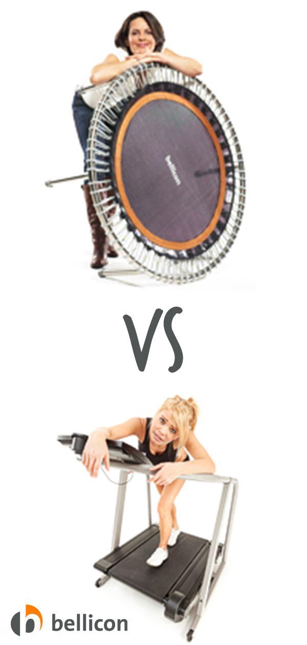 Eine Studie zum Vergleich zwischen Laufen und dem Training auf einem Trampolin kam zu dem Schluss, d...