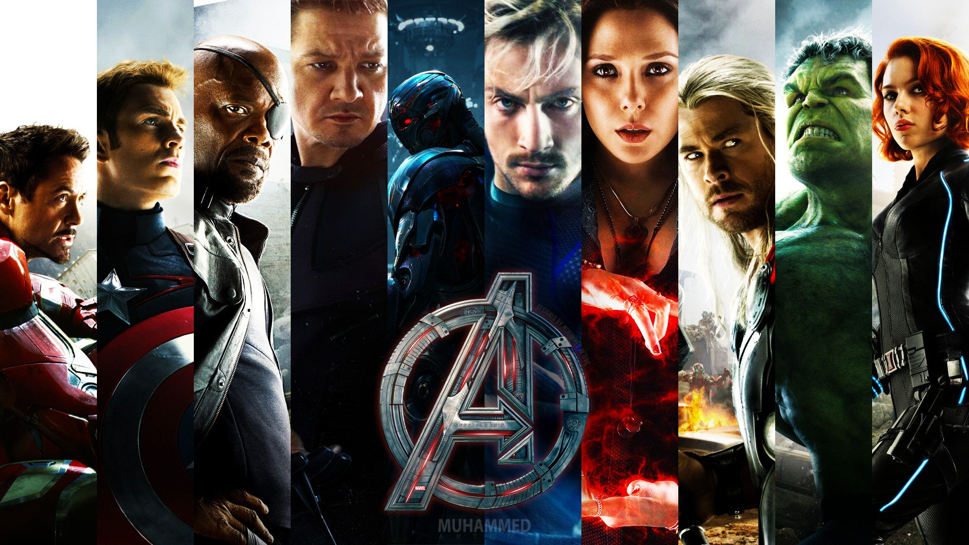 Avengers Age Of Ultron Wallpaper 1080p With Images Avengers