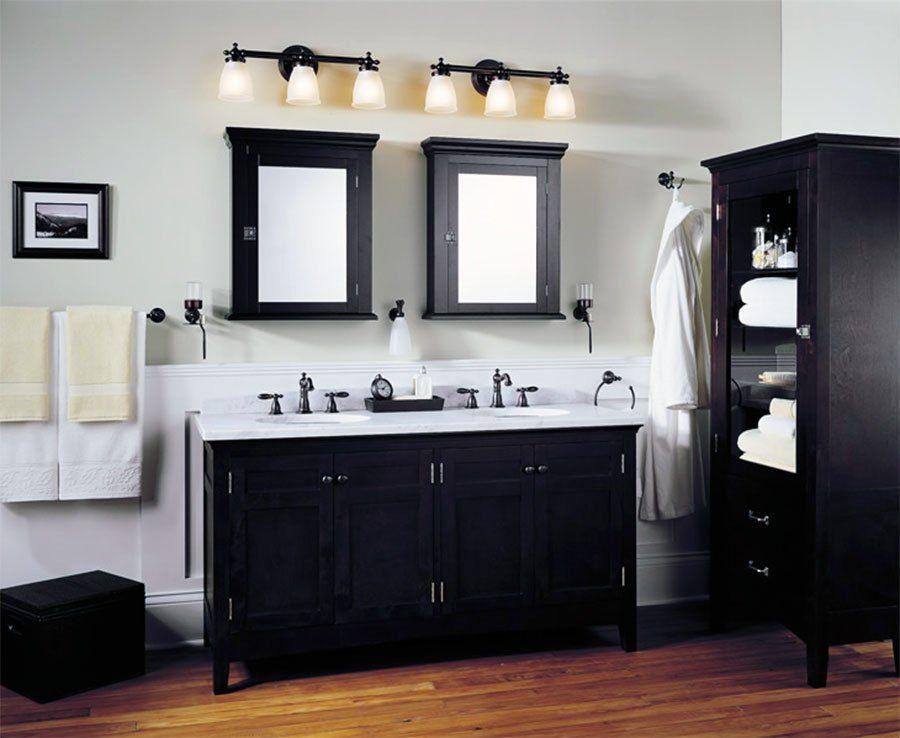Modern Bathroom Lighting Ideas Over Mirror - TRENDECORS