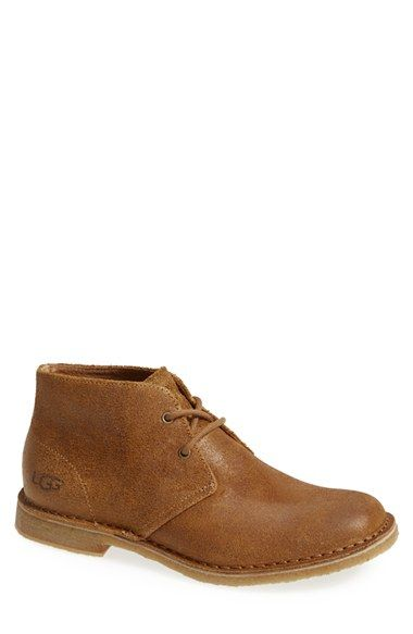 UGG® Australia 'Leighton' Chukka Boot (Men) available at #Nordstrom: These kickers got some potential, especially in black or chocolate.