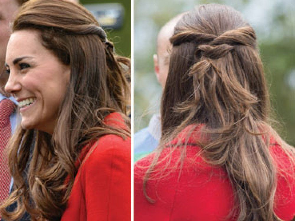 kate-middleton-hair-half-up-twist-hairstyle-red- | Prom ...