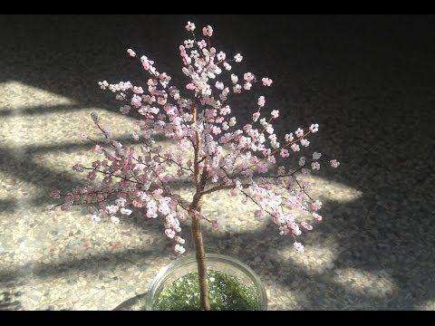Sakura. Die japanische Kirschblüte. Bäume aus Perlen. - YouTube ...