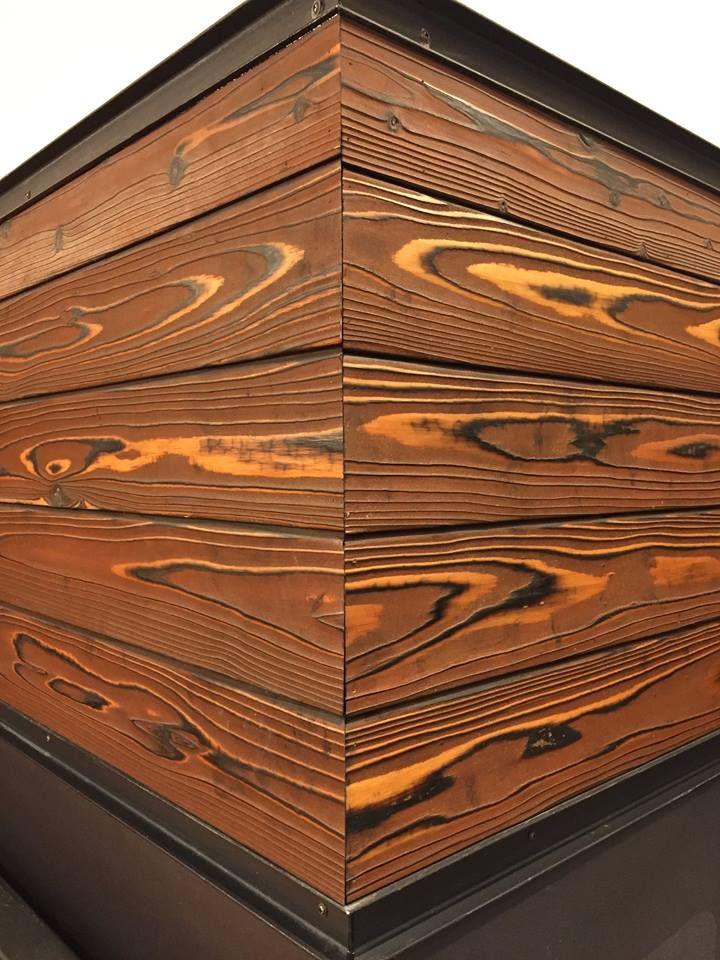 japanese burnt wood wood bois etc atelier bois bois. Black Bedroom Furniture Sets. Home Design Ideas