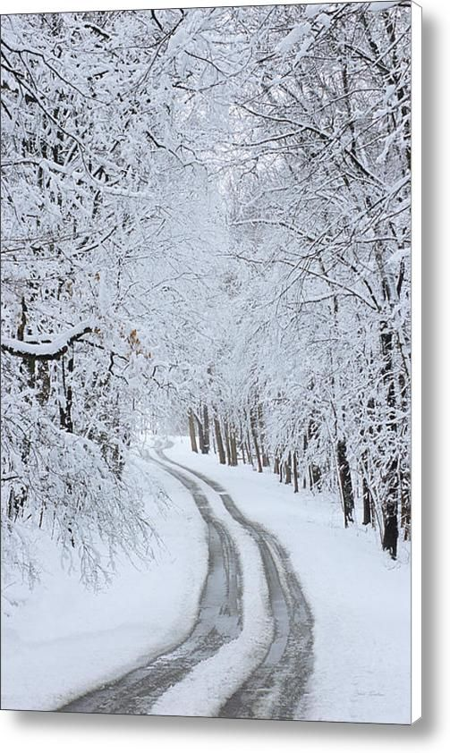 """Basswood Drive"" - Lake Geneva Wisconsin Canvas Print / Canvas Art By Bruce Thompson  #GenevaImages"