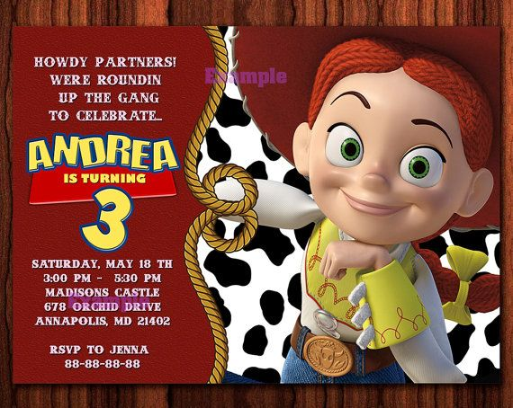 80 Off Sale Jessie Toy Story Birthday Party By