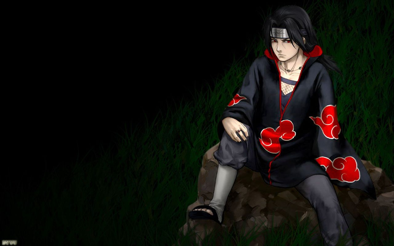 Itachi Uchiha Naruto Anime Best Desktop Backgrounds Pc Wallpaper Image Seni