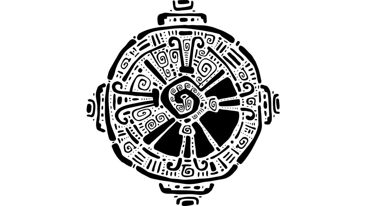 Hunab Ku (Milky Way) | Símbolos mayas, Símbolos aztecas y ...