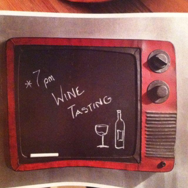 Retro tv Chalkboard