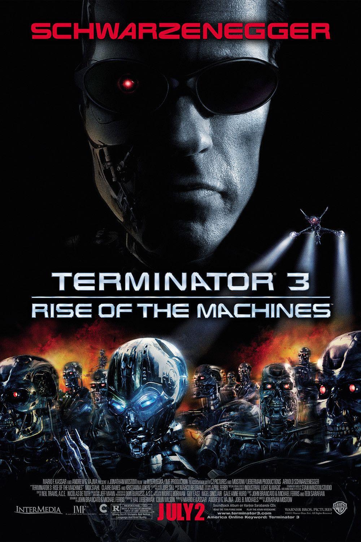 Terminator 3 Rise Of The Machines 2003 Film Streaming Film Affiche Film