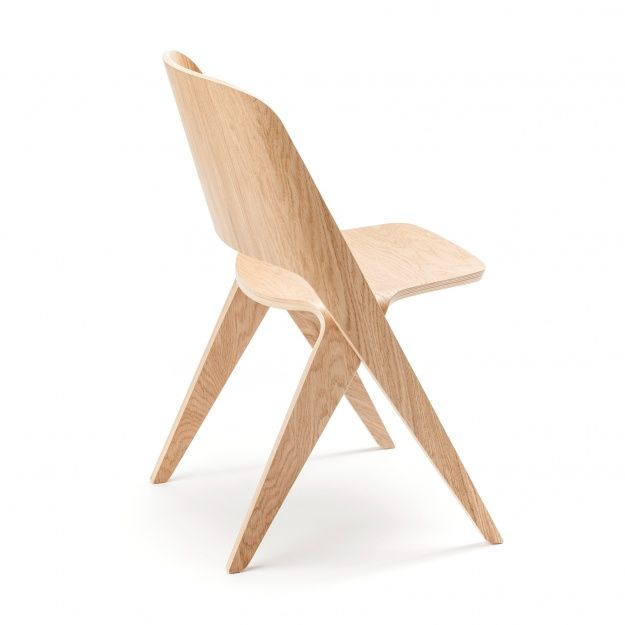 Room And Board Plywood Side Accent Chair: LAVITTA Chair -soft Oak / Poiat