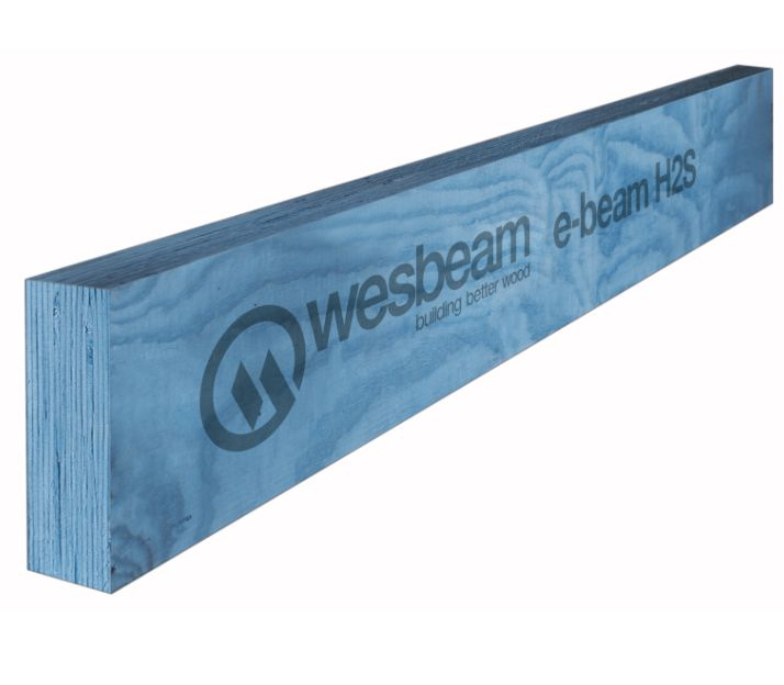 e-beam is Australian-made LVL engineered for stick roof