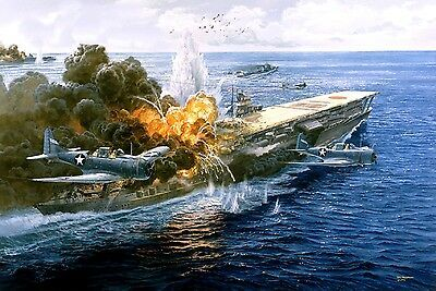 Details about Battle of Midway Style O Poster 13x19 inches