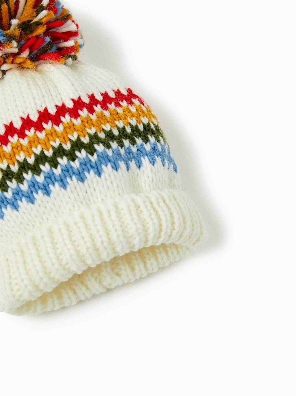 b2fa03c55 Image 2 of COLORFUL POMPOM HAT from Zara | AW19/20 in 2019 | Hats ...