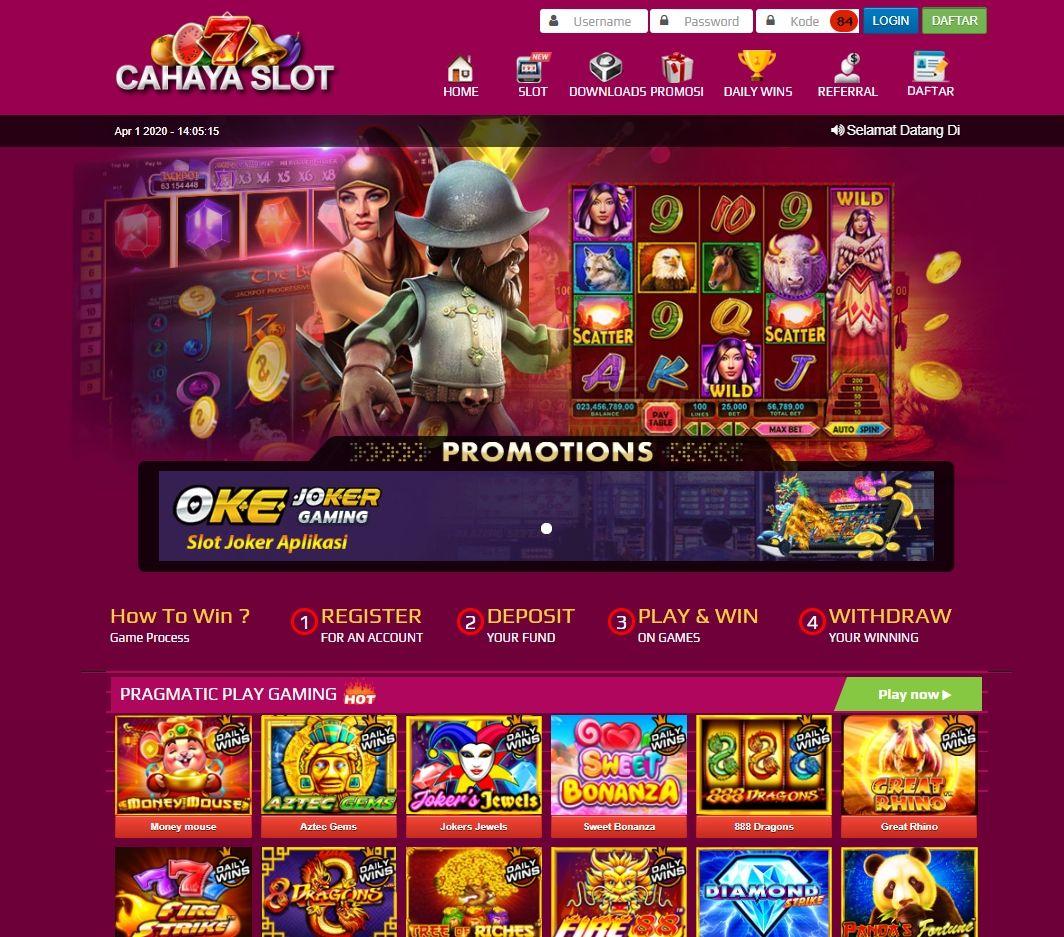 Pin On Situs Slot Online Deposit Pulsa Tanpa Potongan