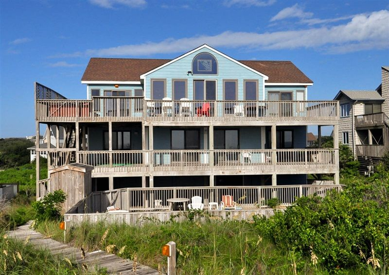 Twiddy Outer Banks Vacation Home Beau Soleil Duck Oceanfront 7 Bedrooms Pet Friendly