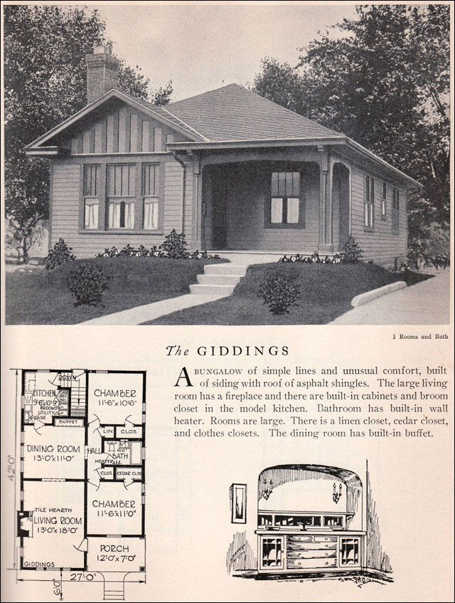 1929 Home Builders Catalog
