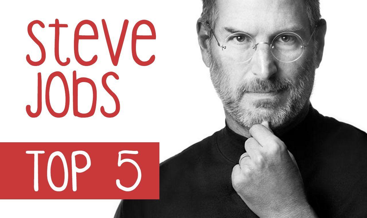 STEVE JOBS - TOP 5 IDEEN FÜR ERFOLG