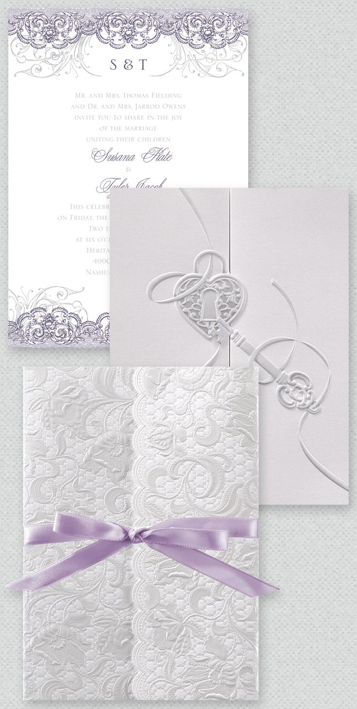 Pearl Vines - Invitation | Pinterest | Elegant wedding themes ...