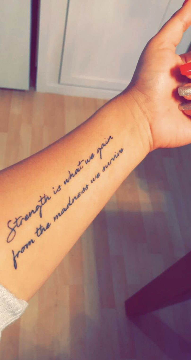 Fore Arm Tattoo Quotes : tattoo, quotes, Inspirational, Strength, Quotes, Tattoos, Forearm, Tattoos,, Tattoo,