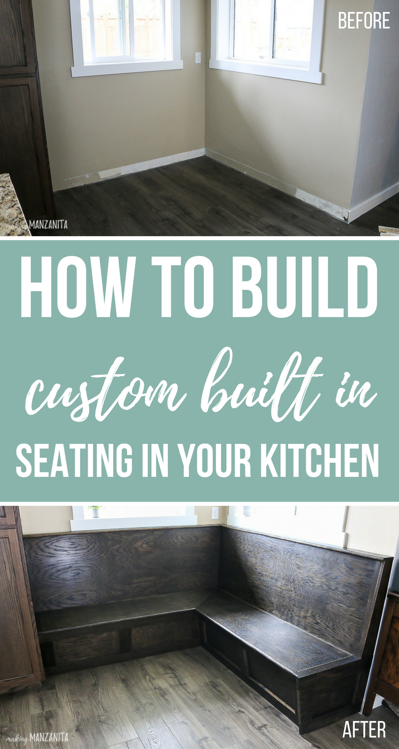 Ready to transform your boring breakfast nook? | Easy Woodworking ...