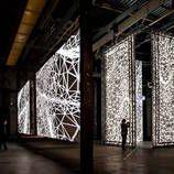 Interactive Light Installation at STRP Biennale – Fubiz Media