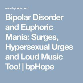 Manic hypersexuality bipolar disorder
