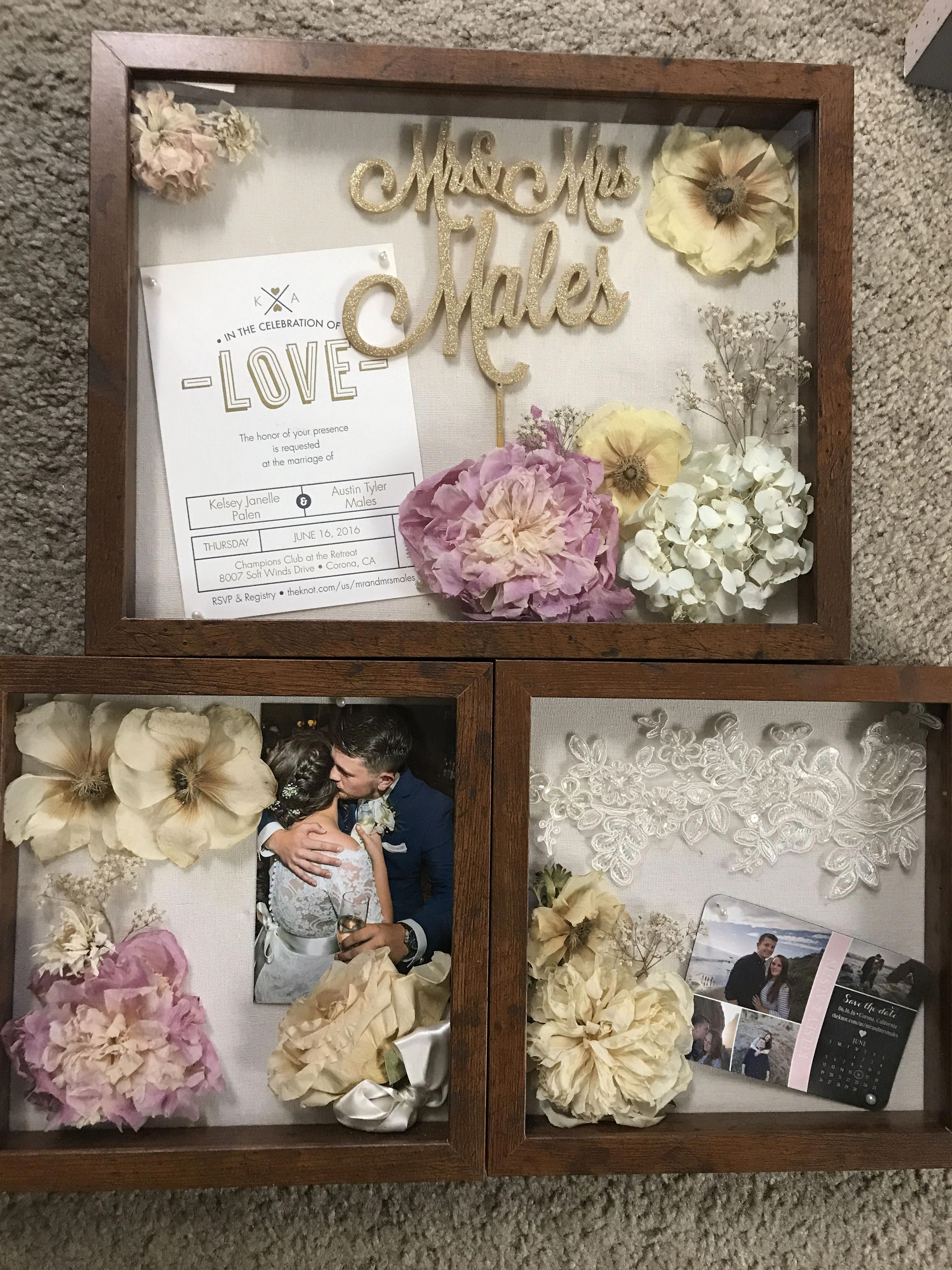 Pin By Kse On Anniversary Party Wedding Shadow Box Wedding Boxes Wedding Thank You Gifts